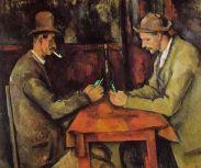 I giocatori di carte, dall'omonima opera di Paul Cézanne, 1894–95