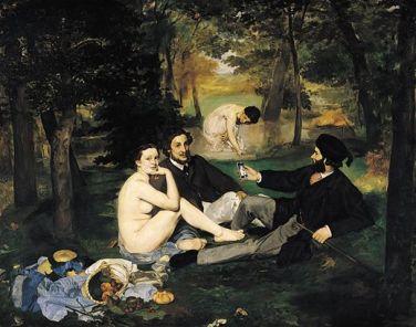"""""""Colazione"""", la reinterpretazione della Colazione sull'erba di Édouard Manet, 1862-1863"""