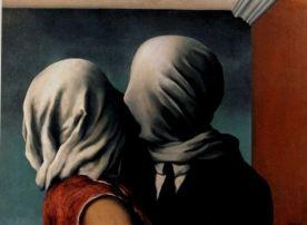 Gli amanti di Rene Magritte
