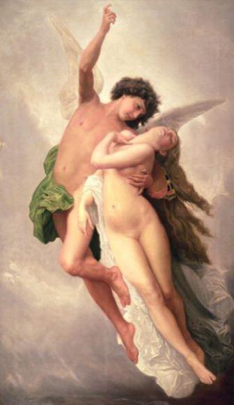 Il rapimento di Psiche di William-Adolphe Bouguereau