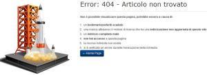 Error sul sito del Mibact