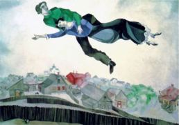 Over the town Chagall
