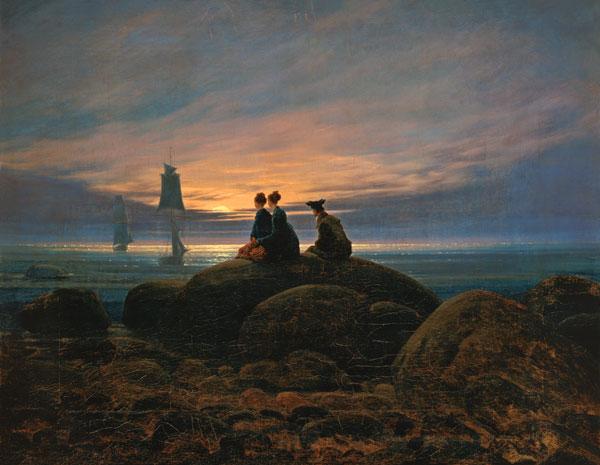 45 anni dallo sbarco sulla luna i 10 dipinti pi belli for Quadri belli