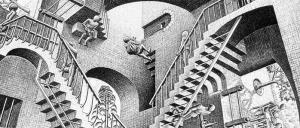 Escher – Dart, Chiostro del Bramante