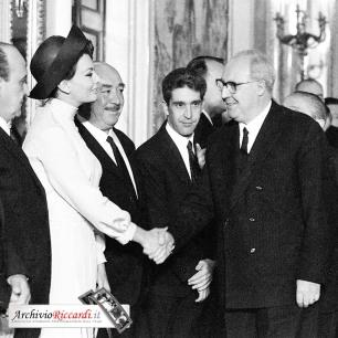 Sophia Loren - 1965 - al Quirinale al David di Donatello - 492[2]