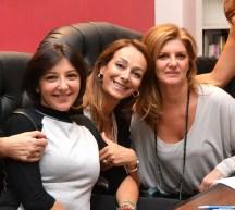 Da sx Maria Cristina Cusumano, Maurelia Carafa, Patrizia Brucculeri