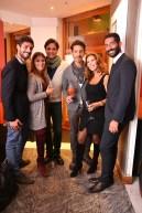 Da sx Piero Bellini, Anita FIorino, Christians Donvito, Giuseppe Picone, Tina Vannini, Francesco Salvatore Cagnazzo