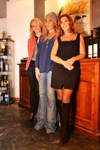 Da sx Francesca, Raffaella e Tina