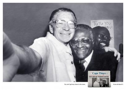 Beyers Naude e Desmond Tutu