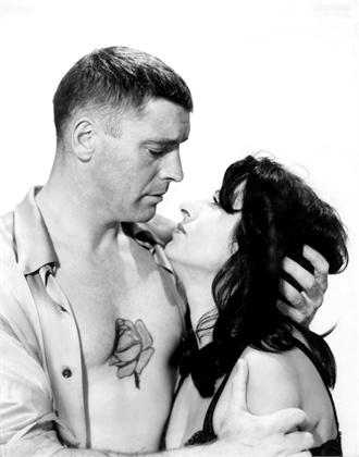 THE ROSE TATTOO, Burt Lancaster, Anna Magnani, 1955