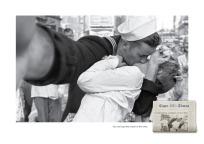 marinaio e infermiera in Times Square