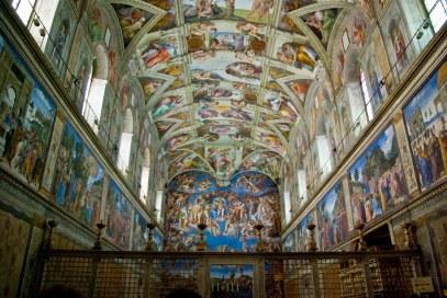 Musei Vaticani - Cappella Sistina 2