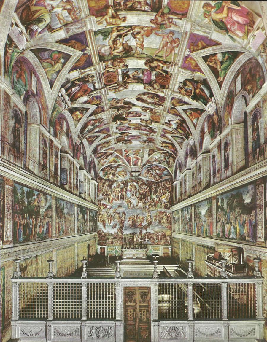 Domenica 25 gennaio si entra gratis nei musei vaticani for Decorazione quattrocentesca della cappella sistina