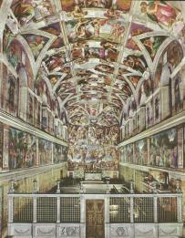 Musei Vaticani - Cappella Sistina 5