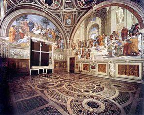 Musei Vaticani - Stanze di Raffaello 2