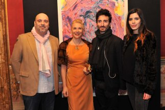 Da sx Danilo Giannoni, Daniela Casasola, Samuel Peron e Tania Bambaci