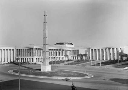 Piazza Guglielmo Marconi, 1957