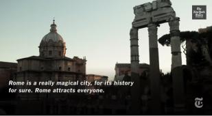 Roma sul New York Times
