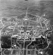 Veduta aerea del quartiere, 1961