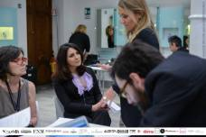 Karin Proia al desk di Giamore