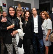 Da sx Anna Pampana, Francesca Barbi Marinetti, Maria Rosaria Omaggio, Gianpaolo Conti e Tina Vannini