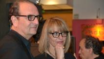 Da sx Claudio Vannini e Francesca Barbi Marinetti