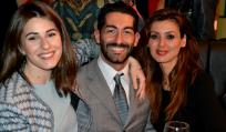 Da sx Diana Del Bufalo, Francesco Salvatore Cagnazzo, Daniela Martani