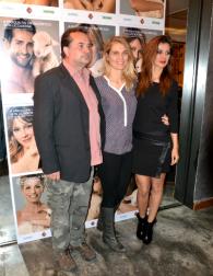 Da sx Marco Biondi, Claudia Zanella e Daniela Martani