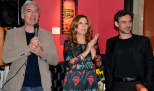 Da sx Paolo Gioannini, Tina Vannini e Giampiero Puglisi