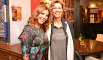 Da sx Tina Vannini e Daniela Poggi