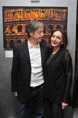 Gianpaolo Conti e Maria Rosaria Omaggio