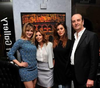 Lodovica Mairè Rogati, Tina Vannini, Daniela Martani e Claudio Vannini