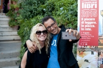 Antonella Clerici e Luca Bianchini