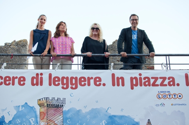 Da sx Ginevra Bersani, Denise Pardo, Antonella Clerici e Luca Bianchini