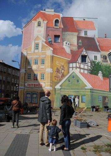 Poznan murales 3d polonia 4