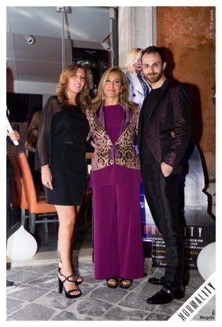 Tina Vannini, Grazia di michele e Gabriele Lazzaro