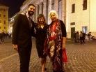 Da sx Salvo Cagnazzo, Francesca Anfosso, Enrica Antonioni