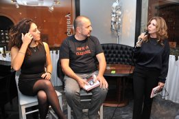 Francesca Vecchioni, Fabio Canino, Tina Vannini