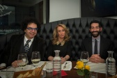 Da sx Daniel Della Seta, Lorella Peroni e Salvo Cagnazzo