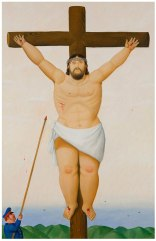 la ''Via Crucis'' di Botero 9