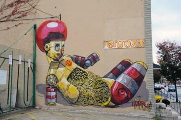 Pixel Pancho – Street art 5