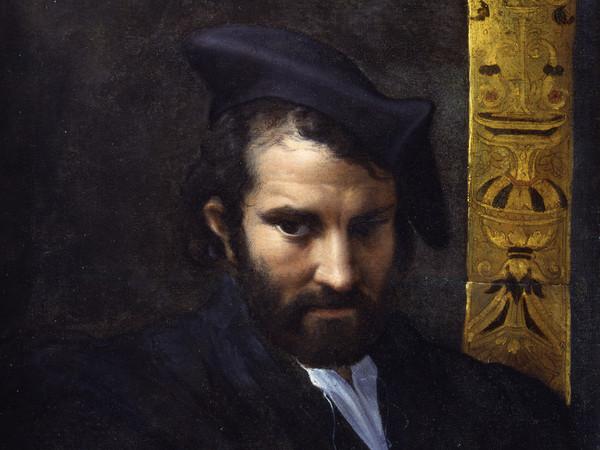 Francesco Mazzola, Il Parmigianino, Ritratto Du0027uomo Con Un Libro, 1524  Circa, Olio Su Tela, 70 X 52 Cm, York Museums Trust