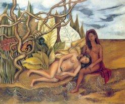 Frida Kahlo Due nudi nel bosco-1939