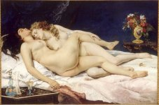 Gustave Courbet The Sleepers, 1866
