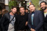 Marco Scorza, Francesco Stella, Adriano Bartolucci Proietti e Salvo Cagnazzo