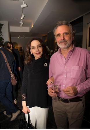 Maria Rosaria Omaggio e Robbi Huner