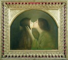 The kiss 1900 J. Granie