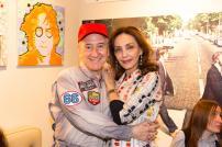Dario Salvatori e Maria Rosaria Omaggio