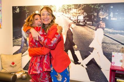 Tina Vannini e Francesca Barbi Marinetti