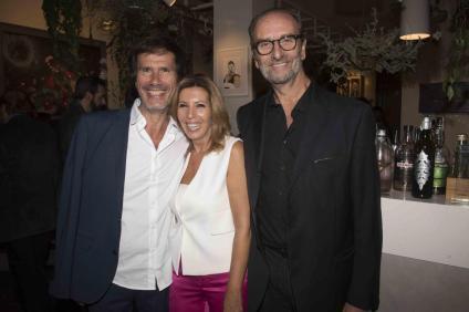 Da sx Corrado Veneziano, Tina Vannini, Claudio Vannini